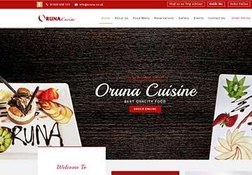 Oruna Online Ordering Package