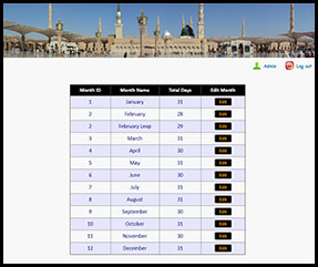 Mosque Prayer Times
