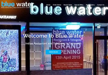 Blue Water Restaurant - Online Ordering Package