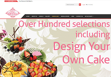 Caffe Chino - Ecommerce Package